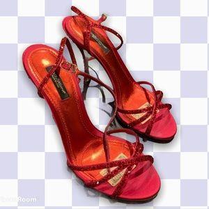Red Dolce & Gabbana Kiera Heels